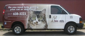 FACE community outreach van