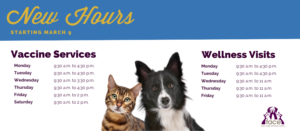 New Hours March 9
